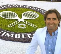 Ali en Wimbledon